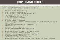 CombiningCodes